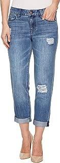 women's rigid denim jeans