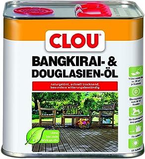 Clou Bangkirai Holzöl: Schutz, Pflege & Auffrischung für Aussen, Kinderfreundlich, UV-Schutz, 2,5 L