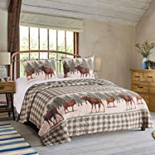 Greenland Home Moose Creek Bedding Set, King, Multi