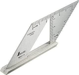 シンワ測定 止型定規 直角付き 62110