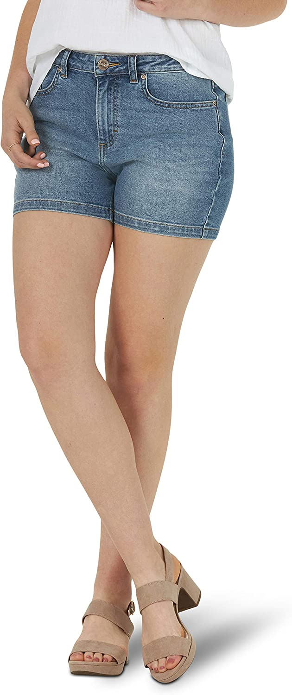 Lee Women's Legendary Regular Fit High Rise Short
