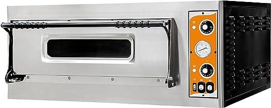 Horno de pizza Deluxe 9prismafood Premium Adecuado para 9x 35cm de diámetro pizzas