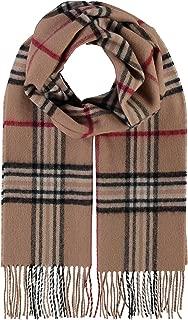 grigio arancione // 200 x 30 cm Rotfuchs Sciarpa lavorata a maglia in volpe rossa Sciarpa da uomo Calda e morbida Unisex in lana a righe multicolore