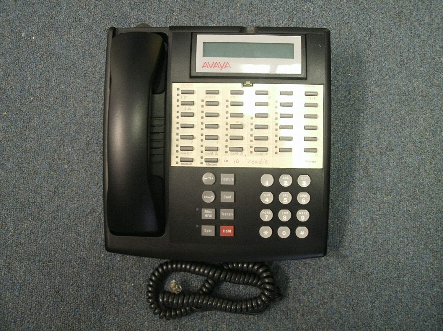 Inventory cleanup selling sale Lucent Avaya Partner 34D Euro 34 online shopping Button Display Phone Telephone