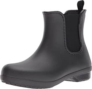 Crocs Women's Freesail Chelsea Waterproof Rain Easy on Ankle Boot
