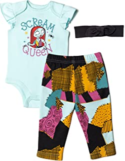 Nightmare Before Christmas Sally Baby Bodysuit Pants &...