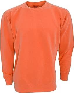 Comfort Colors Adults Unisex Crew Neck Sweatshirt (3XL) (Neon Red Orange)