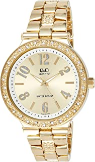 Q&Q Dress Watch Analog Display for Women F509-003Y
