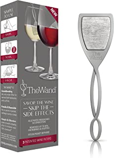 aerate wine with spoon