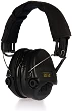 MSA Sordin Supreme Pro X - Special Edition - Electronic Earmuff with Black Headband, Black Cups and Gel Seals Fitted