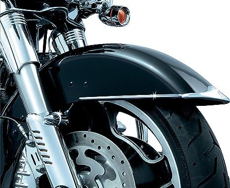 Kuryakyn Chrome Rear Speaker Accents for Harley FLH/T 98-13 ...