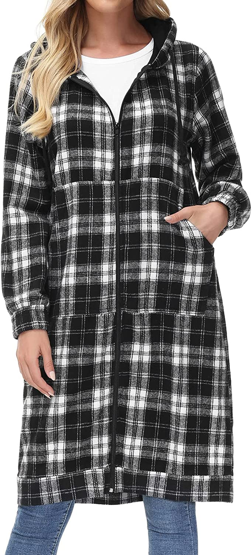 Excellent GRACE KARIN Women's Casual Pockets specialty shop Zip Sweatshi up Hoodies Tunic