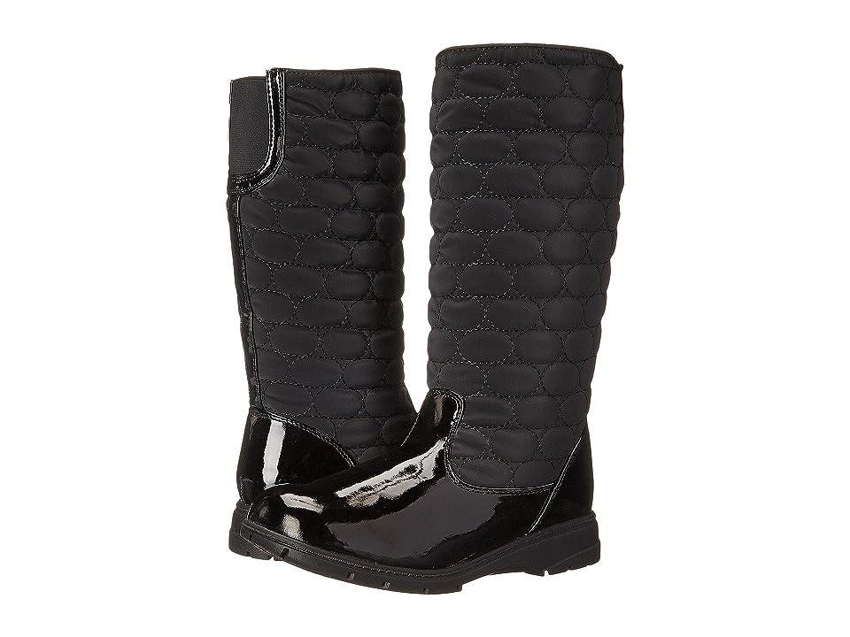Soft Style Paris (Black Vylon/Patent) Women
