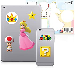 Controller Gear Super Mario - Character Tech Decal Pack - Peach's Kingdom - Nintendo Wii; GameCube