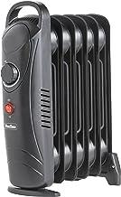 VonHaus Mini radiador lleno de aceite 800 W 6 aletas -