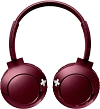 PHILIPS Sealed Type Bluetooth Wireless Headphone SHB3075RD (RED)【Japan Domestic genuine products】