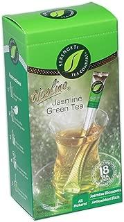 Serengeti Tea Jasmine Green Tea Box with 18 Tea Sticks