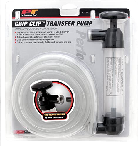 high quality Performance Tool W1156 2021 Grip Clip Transfer Pump/ Siphon outlet sale Fluid Transfer Pump Kit for Water, Oil, Liquid, and Air online sale