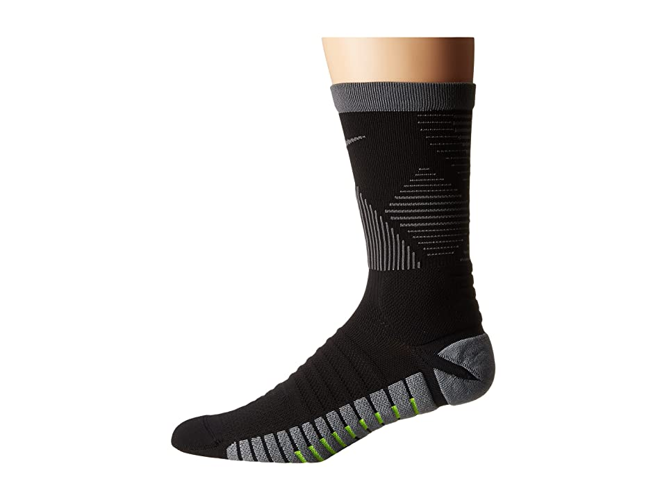 Nike Strike Mercurial Soccer (Black/Dark Grey/Dark Grey) Crew Cut Socks Shoes