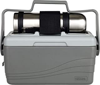 Thermos Lunch Lugger - 6.6L Insulated Cooler and 1L Stainless Steel Flask, 5381DV100, gray