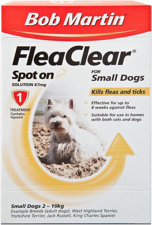 Bob Martin Flea Clear Small Dog Spot On 1 Tube (Pack of 10)