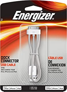 Energizer CB-APW70 Dock Connector USB Cable