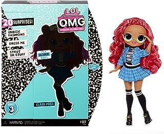 LOL Surprise Poupées mannequins collectionnables pour filles – Avec 20 surprises et accessoires - Class Prez - OMG Series 3