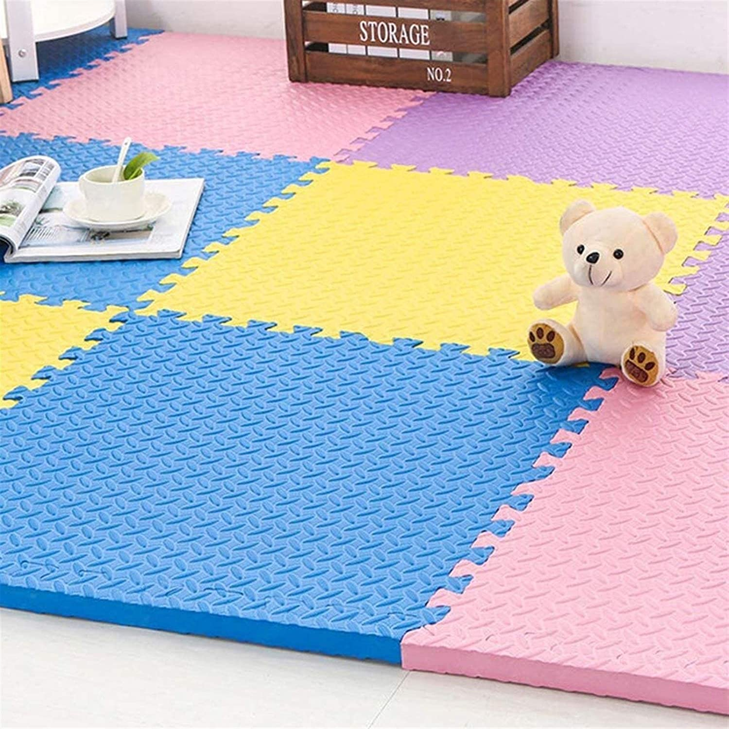 Puzzle Play Limited time for free shipping Mats exercise mat water-and Genuine The noise-resista