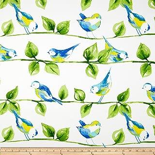 Richloom Fabrics Richloom Solarium Outdoor Curious Birds Garden
