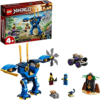 LEGO NINJAGO Legacy Jay's Electro Mech 71740 Ninja Toy Building Kit Featuring Collectible Minifigures; Great Gift for Kids...