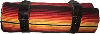 mexican serape roll up blanket