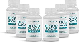Blood Sugar Formula Supplement by PureHealth Research (Non-GMO) Maintain Healthy Blood Sugar Levels and Regulate Blood Pre...