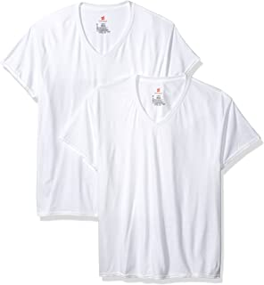 Hanes Men's 3-Pack Comfortblend Superior Softness V-Neck with Freshiq