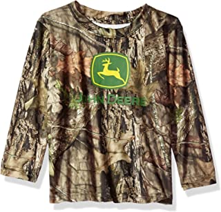 John Deere Mossy Oak Camo Toddler Boy Poly Tee