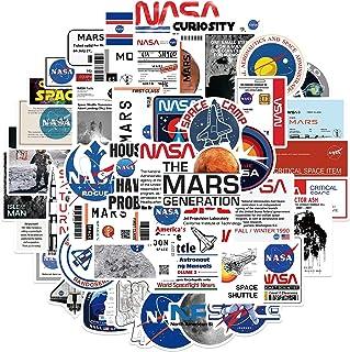 50pcs Space Agency Aesthetic Astronaut Stickers Cool Laptop Stikcers for Teens,Cute Carton Space Explorer Astronaut Vinyl ...