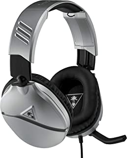 Turtle Beach Recon 70 Silver Gaming Headset - PS4, PS5, Nintendo Switch, Xbox One & PC