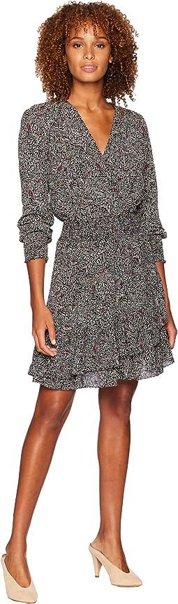 Boho Block Ruffle Dress