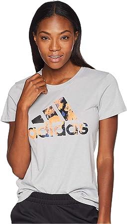 Badge of Sport Floral Print T-Shirt