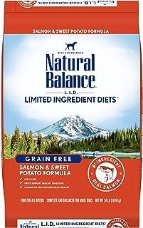 Natural Balance L.I.D. Limited Ingredient Diets Dry Dog Food, Grain Free