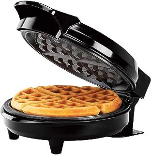 Holstein Housewares HH-09037016B Large Non-Stick Waffle Maker, 8-inch, Black