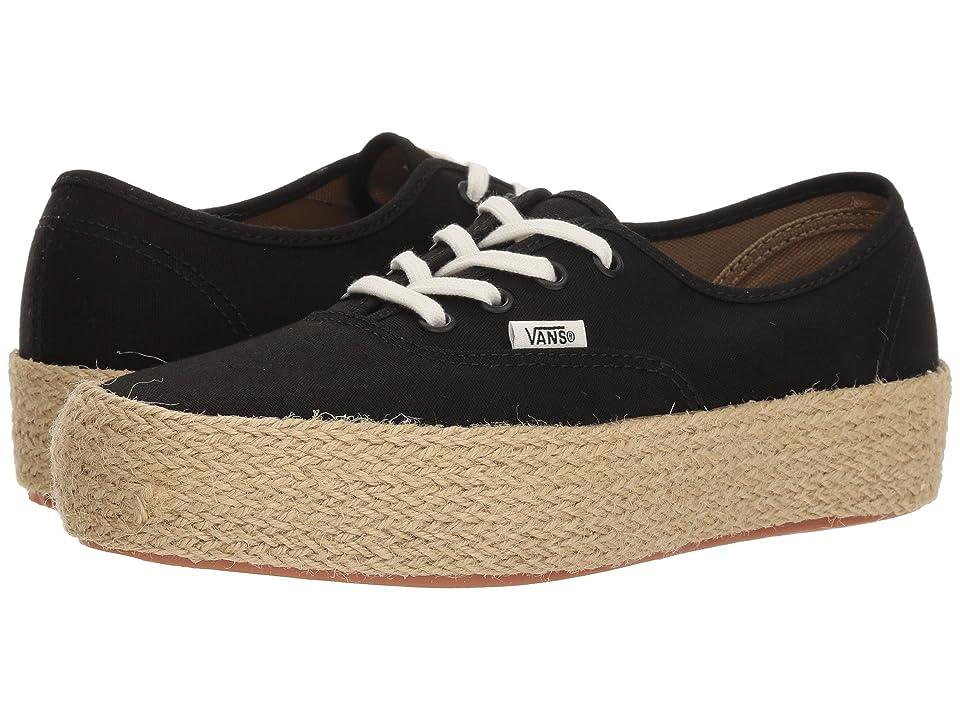 Vans Authentic Platform ESP (Black) Skate Shoes