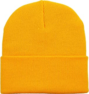 ef7cdd690a4d9 Thick and Warm Mens Daily Cuffed Beanie OR Slouchy Made in USA for USA Knit  HAT