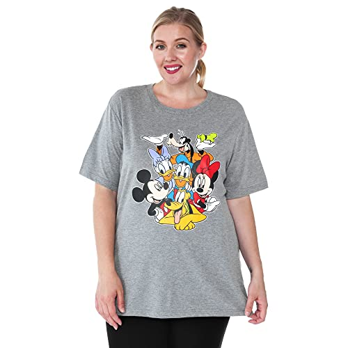 93fb33f3141bb Disney Women s Plus Size T-Shirt Mickey Minnie Mouse Donald Daisy Goofy  Pluto