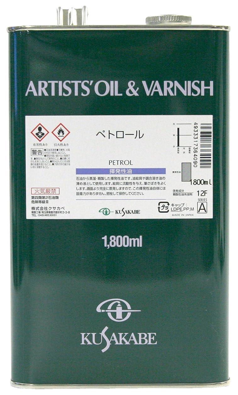 フレットまたねまたねクサカベ 画用液 ペトロール 1800ml