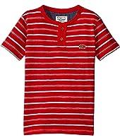 Lucky Brand Kids - Offshore Short Sleeve Henley in Slub Jersey (Little Kids/Big Kids)