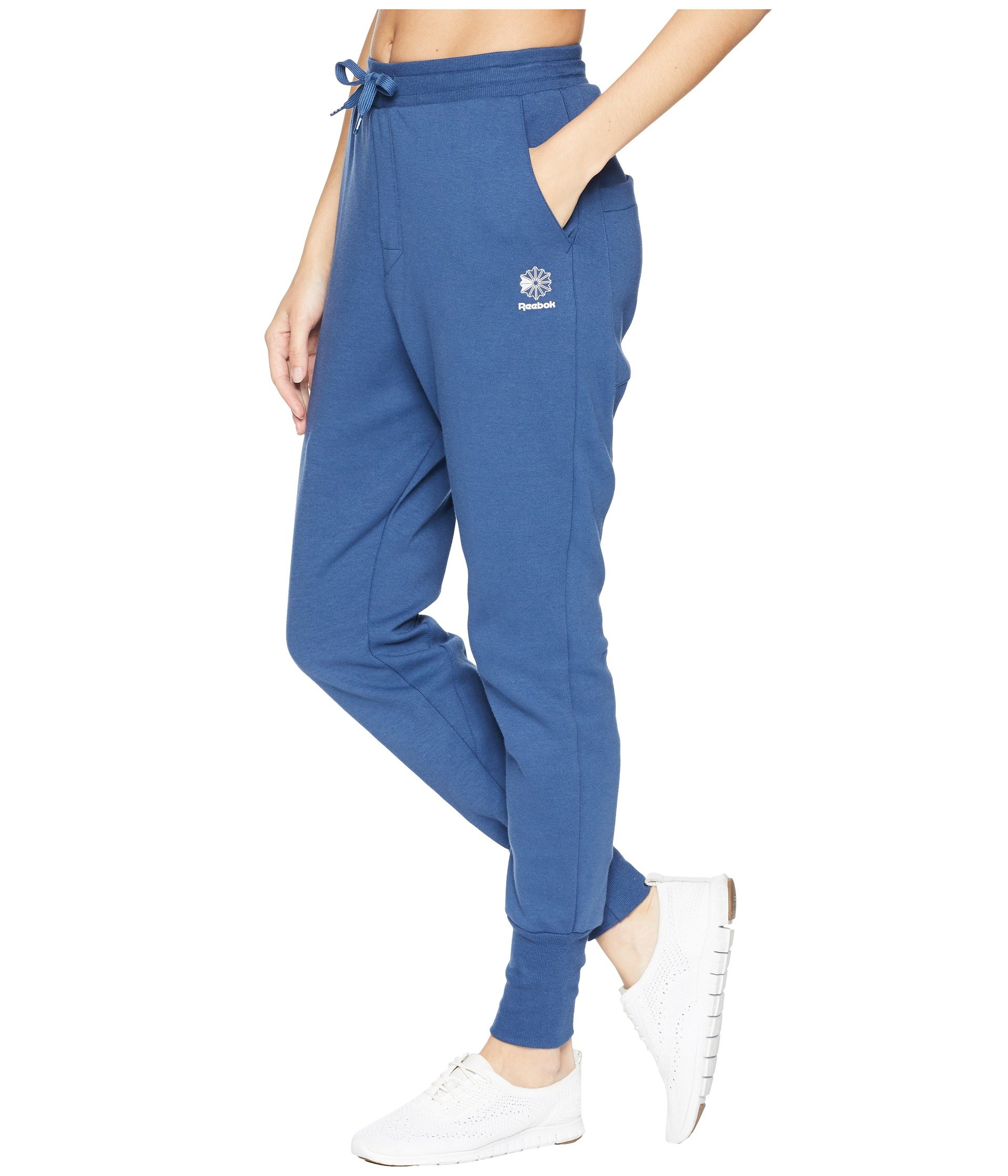 Blue Washed Classic Pants Reebok Dynamic UWnTxccAP