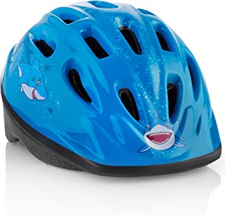 KIDS Bike Helmet � Adjustable from Toddler to Youth Size, Ages 3-7 - Durable Kid Bicycle Helmets with Fun Designs Boys and Girls will LOVE - CPSC Certified for Safety and Comfort - FunWave