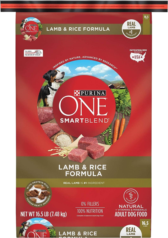 Purina ONE SmartBlend Natural Adult Lamb & Rice Dry Dog Food