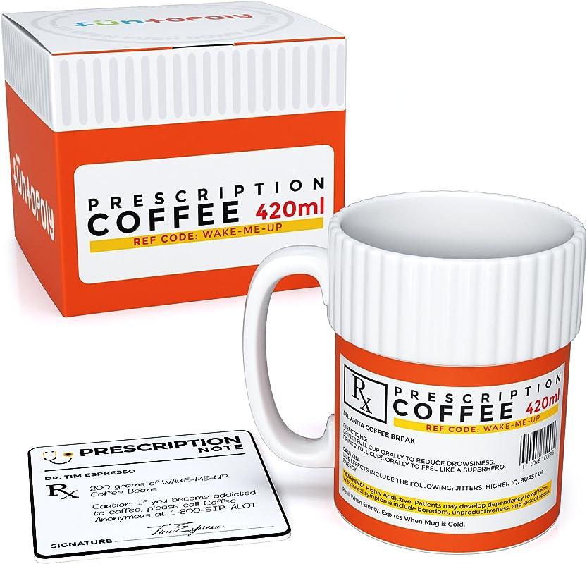 Funtopoly Funny Mug Original Prescription Coffee Mug