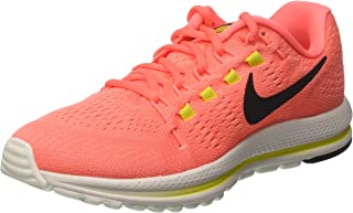 huge discount 6f7a3 9a69a Nike Womens Air Zoom Vomero 12 Running Shoe, Hot Punch Black Lava Glow